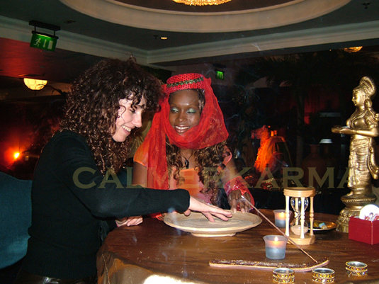 SAND READER - ARABIAN NIGHTS THEMED EVENTS