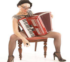 FRENCH THEMED ENTERTAINMENT - ACCORDIANIST MOULIN ROUGE THEMED ACTS
