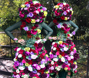 Femme De Fleurs luxury walkabout flower act hire UK