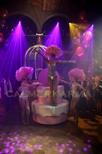 GREAT GATSBY THEMED PARTY ENTERTAINMENT -PINK  POWDER SHOWGIRLS -UK