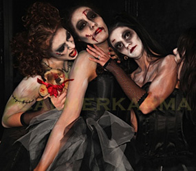 HALLOWEEN THEMED ENTERTAINMENT ACTS TO HIRE