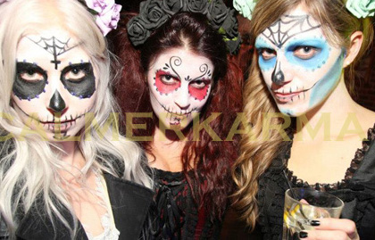 HALLOWEEN THEMED MAKE UP ARTISTS - DAY OF THE DEAD