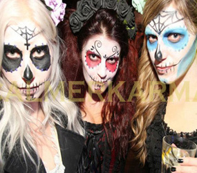 HALLOWEEN MAKEUP ARTISTS TO HIRE -DAY OF THE DEAD TO ZOMBIE THEMES
