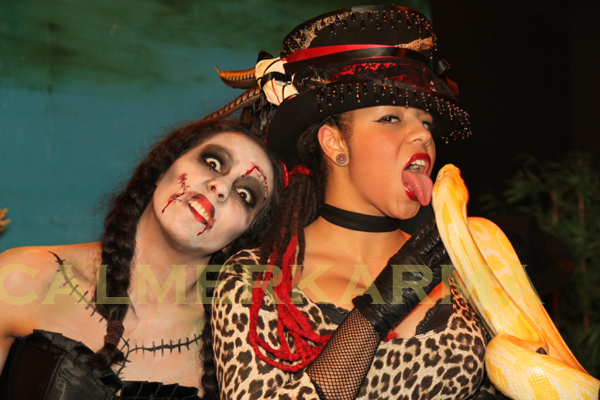 Halloween Themed Entertainment - snake zombie