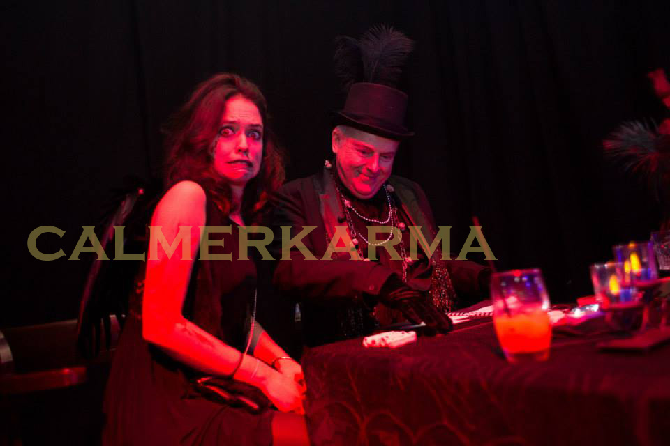 HALLOWEEN THEMED FORTUNE TELLERS - VICTORIAN UNDERTAKER ACT TO HIRE LONDON, MANCHESTER, BIRMINGHAM UK