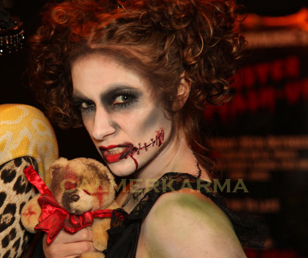 HALLOWEEN THEMED DANCERS TO HIRE - THE ZOMBIE DOLLS LONDON AND UK
