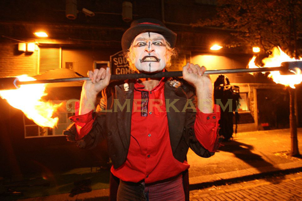 HALLOWEEN THEMED ACTS -FIRE PERFORMER