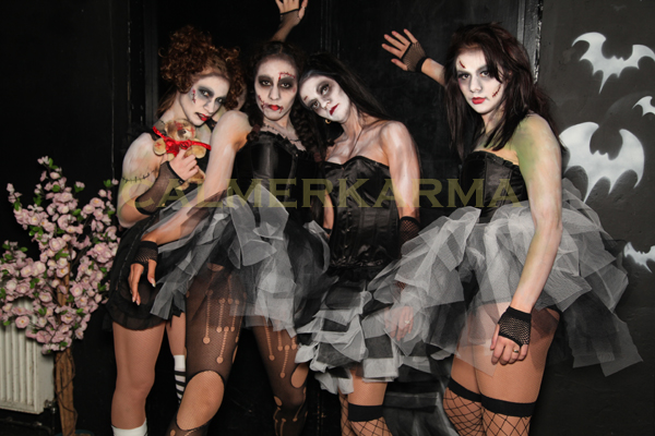 HALLOWEEN THEMED ENTERTAINMENT - ZOMBIE DOLLS