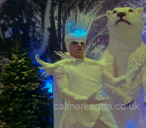 WINTER WONDERLAND PARTY ENTERTAINMENT TO HIRE - ICE KING PERFORMER & MC LONDON