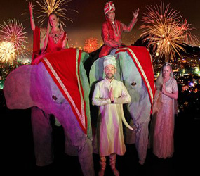 BOLLYWOOD AND INDIAN THEMED EVENTS - ANIMATRONIC ELEPHANT HIRE UK