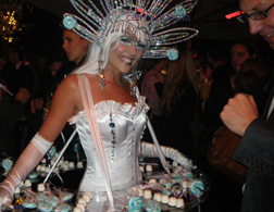 WINTER WONDERLAND THEMED ENTERTAINMENT - ICE THEMED CANDY GIRL