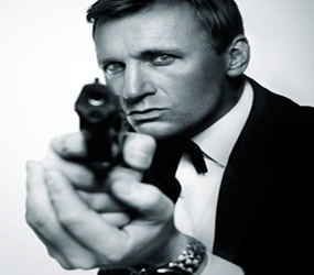 JAMES BOND LOOKALIKES HIRE - DANIEL CRAIG LOOKALIKE -007 PERFORMER HIRE