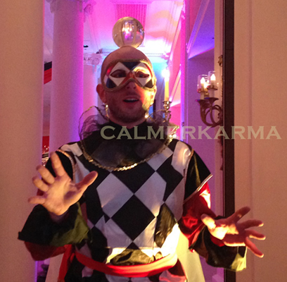 venetian masked ball -masquerade contact juggler uk