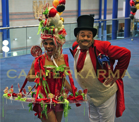 GREATEST SHOWMAN- CANDY HOSTESSES HIRE