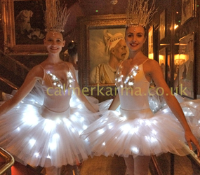 LED BALLERINAS TO HIRE LONDON AND UK BALLET ACTS