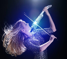 LUXURY EVENT ENTERTAINMENT -LED VIOLIN