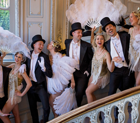 LUXURY PARTY ENTERTAINMENT GREAT GATSBY AND HOLLYWOOD STYLISH DANCERS TO HIRE UK