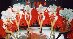 LAS VEGAS SHOWGIRL DANCERS - UK