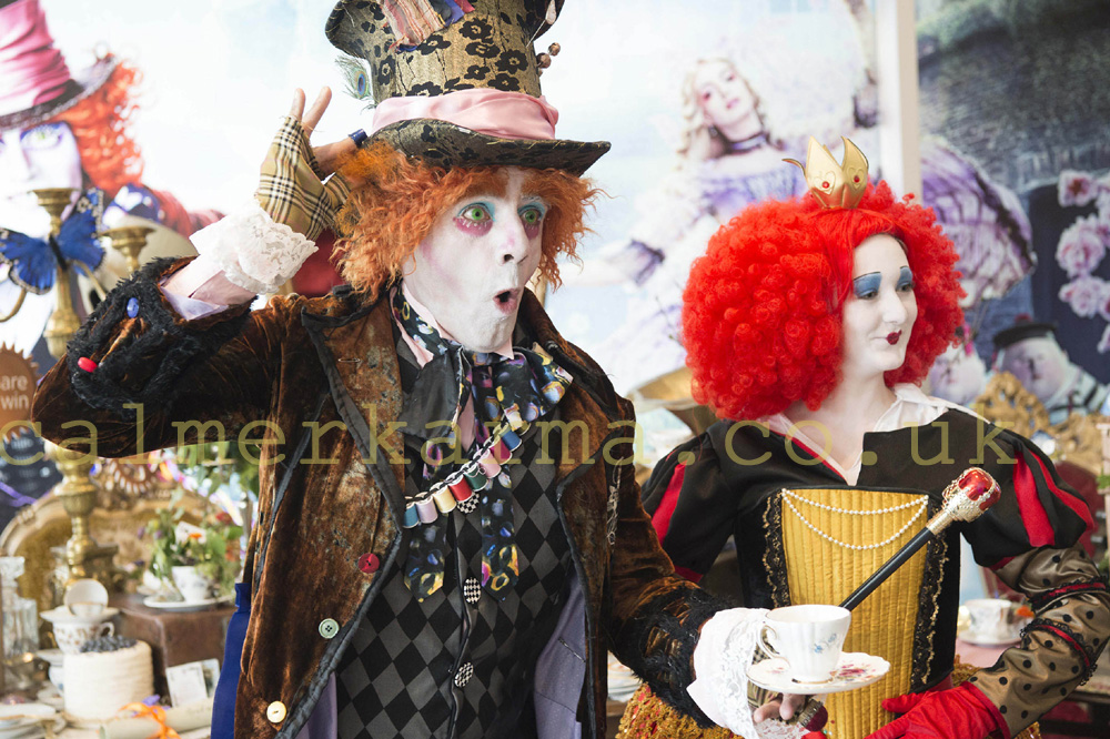 MAD HATTER LOOKALIKE ACT TO HIRE UK