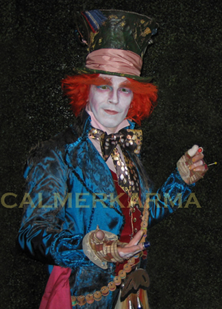 MAD HATTER LOOKALIKE-DEPP-TO HIRE -SCOTTISH-HATTER UK