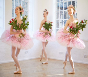 NUTCRACKER THEMED ENTERTAINMENT - SUGAR PLUM BALLET DANCERS TO HIRE UK