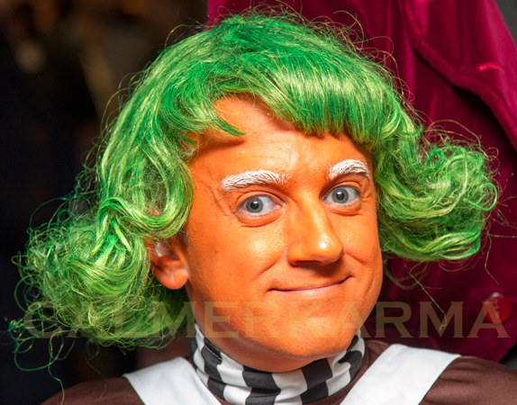 WILLY WONKA THEMED ENTERTAINMENT - OOMPA LOOMPA DWARVES TO HIRE UK