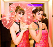 Oriental Geisha themed hostesses