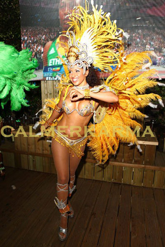 RIO CARNIVAL THEMED ENTERTAINMENT -SAMBA DANCER