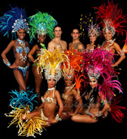 brazilian carnival themed acts to hire - samba dancers london