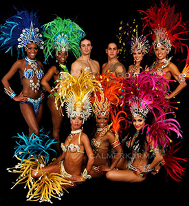 BRAZILIAN CARNIVAL RIO SHOWGIRLS TO HIRE LONDON MANCHESTER UK