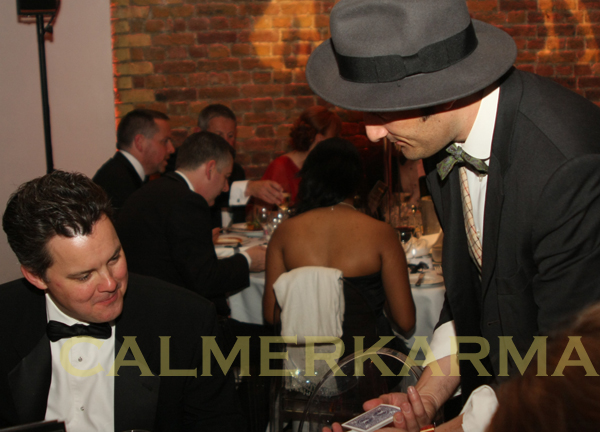 ROARING 20S + PROHIBITION THEMED ENTERTAINMENT - CARD SHARP + MAGICIAN UK