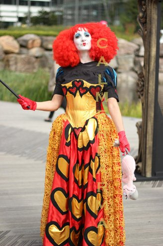 ALICE IN WONDERLAND THEMED ENTERTAINMENT -THE RED QUEEN - DID YOU STEAL HER TARTS