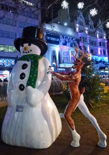 WINTER WONDERLAND THEMED ENTERTAINMENT - REINDEER MAN ACT