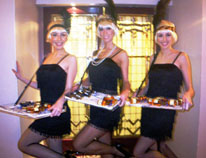 1920S THEMED ENTERTAINMENT -GATSBYS GIRLS HOSTESSES