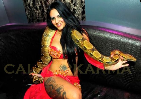 SNAKE DANCERS FOR EVENTS - LONDON AND UK