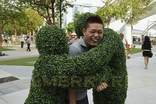 GARDEN THEMED ENTERTAINMENT -THE HEDGE HUGGERS UK