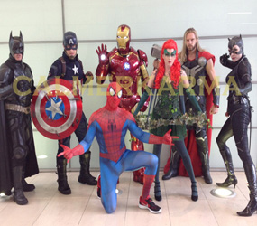 SUPERHERO THEMED ENTERTAINMNENT -ENDGAME PERFORMERS HIRE