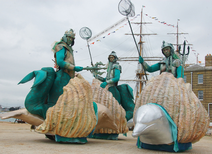 UNDER THE SEA AND WATER THEMED ACTS - THE ROVING SEA GODS ACT