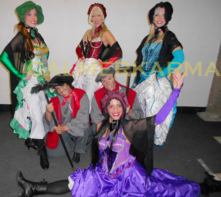 VICTORIAN THEMED ENTERTAINMENT - TAVERN DANCERS AND VICTORIAN CHIMMNEY SWEEPS - MANCHESTER