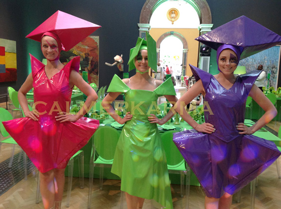 THE FASHIONISTAS -HOSTESSES FOR ART OR FASHION THEMED PARTIES