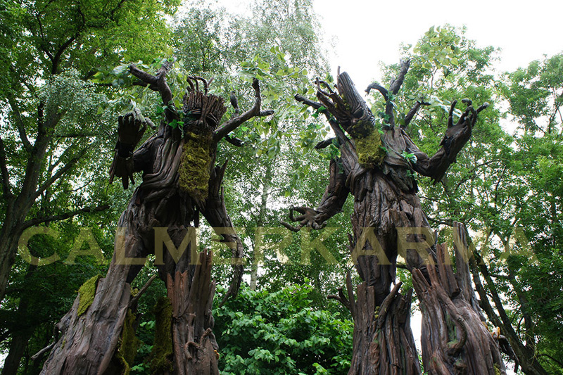 TREE STILTS- MIDSUMMER OR ENCHANTED WOODLAND THEMED ENTERTAINMENT LONDON AND MANCHESTER