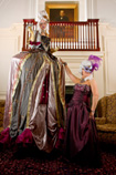 VENETIAN MASKED BALL THEMED ENTERTAINMENT - POMPADOUR STILTS