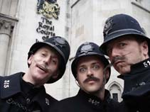 victorian themed entertainment - comedy policemen