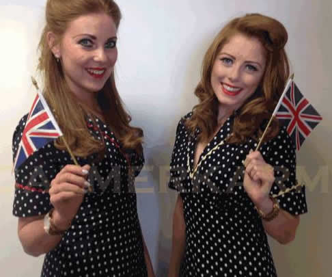 HOSTESSES FOR EVENTS - VINTAGE HOSTESSES FOR 1940S,  BEST OF BRITISH OR CLASSIC THEMED EVENTS UK