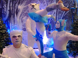 WINTER-WONDERLAND ACTS TO HIRE FROM LED ACROBATIC ELVES TO SNOW QUEEN STILTS TO ICE KING MC & COMPARE