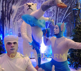 WINTER WONDERLAND THEMED ACTS TO HIRE