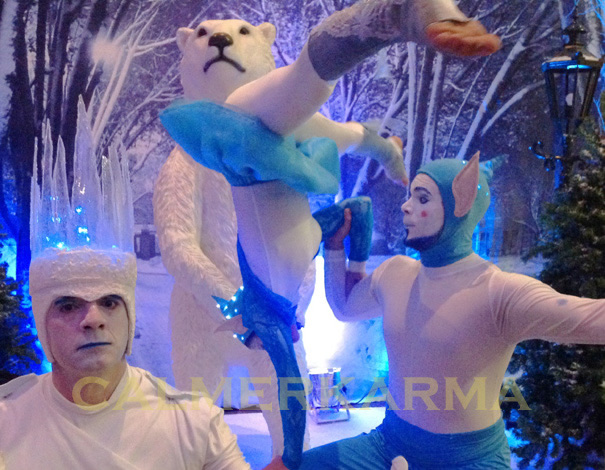 WINTER WONDERLAND THEMED ENTERTAINMENT - ICE KING MC + ACROBATS
