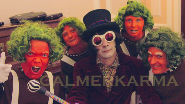 WILLY WONKA THEMED ENTERTAINMENT - WILLY WONKA AND OOMPA LOOMPAS - MANCHESTER
