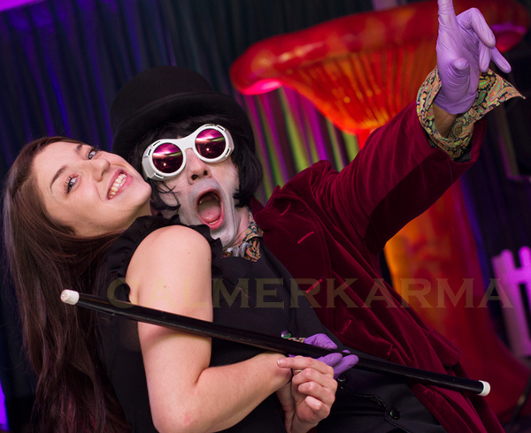 WILLY WONKA THEMED ENTERTAINMENT - WILLY WONKA LOOKALIKE
