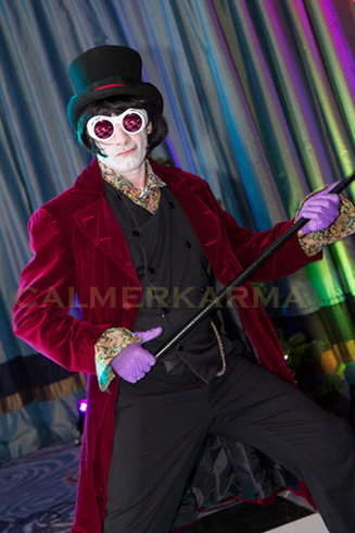 WILLY WONKA THEMED ENTERTAINMENT - WILLY WONKA LOOKALIKE TO HOST AND MC YOUR PARTY